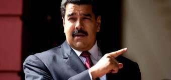 """¡CARA E' TABLA! Maduro ahora culpa a la """"oligarquía"""" de destruir la producción en Venezuela"""
