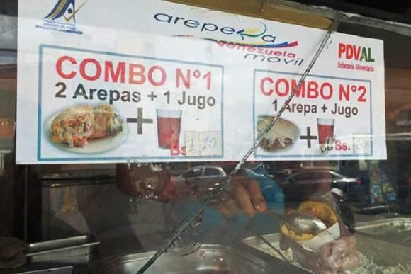Arepera-Venezuela-Combos