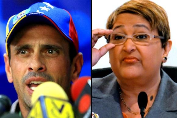 henrique-capriles-vs-tibisay-lucena