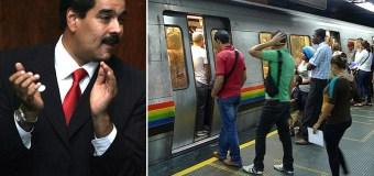 ¡EL MIEDO ES LIBRE! Cerradas 27 estaciones del Metro de Caracas este #13A