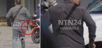 [FOTOS] Identificado paramilitar armado que disparó en protesta de este #24M (GNB lo protegió)