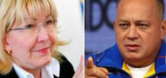 """Diosdado Cabello sobre posición de la fiscal general: """"Es una traición"""""""