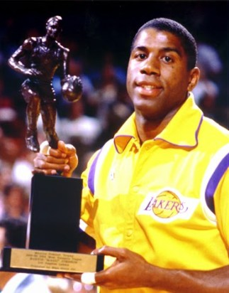 Magic Johnson MVP