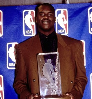 Shaquille o'neal ROY