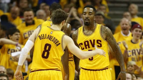 Dellavedova y jr. smith