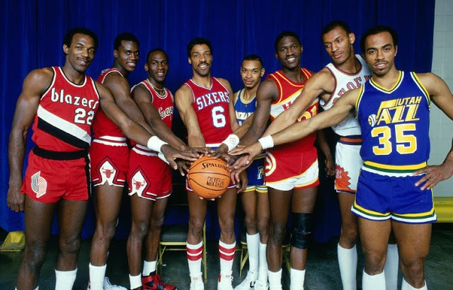 Drexler, Jordan,Julius Erving,Dominique Larry Nance...