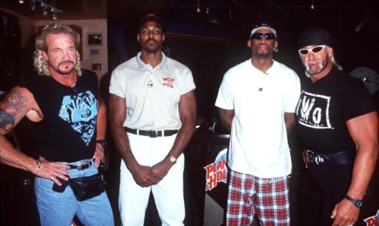 NBA que lucharon en Wrestling
