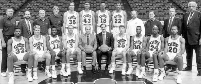 cavaliers 1991-1992