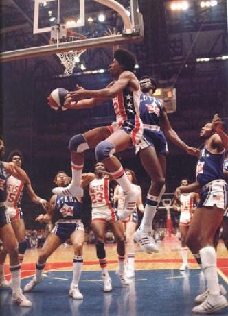 Erving New York Nets Campeón y MVP de la ABA