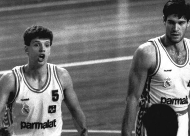 Drazen Petrovic en el Real Madrid