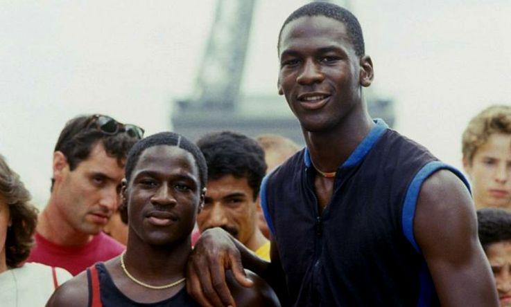 Larry Jordan y Michael Jordan