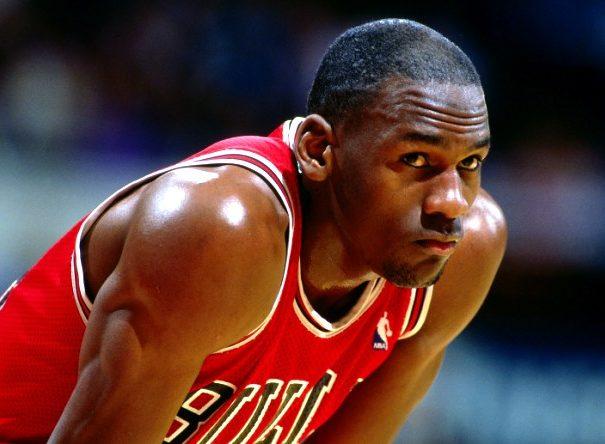 infeliz a Michael Jordan