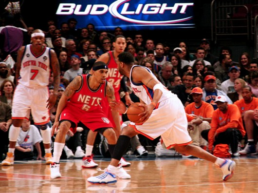 Courtney Lee defending Tracy McGrady