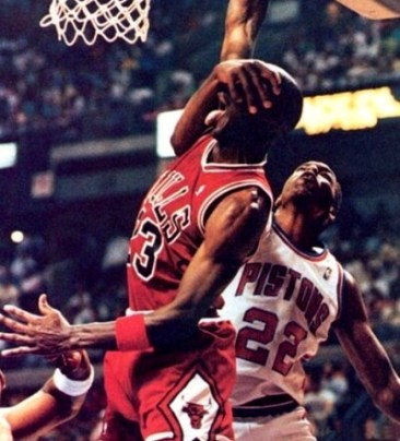 Michael Jordan vs Salley