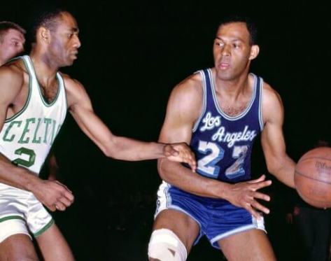 Elgin Baylor Sam Jones