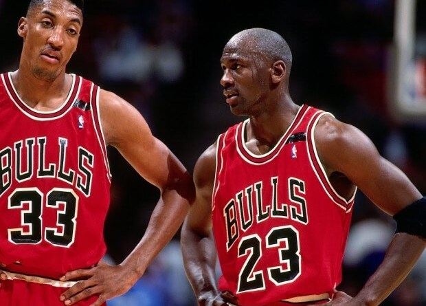 mayor derrota de Michael Jordan y Scottie Pippen