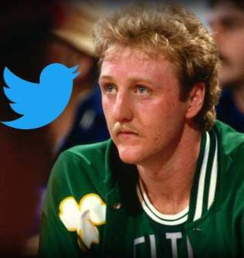 Larry the Bird Twitter