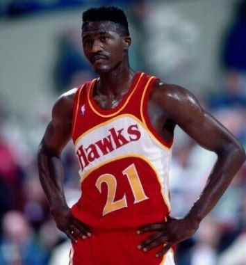 Dominique Wilkins Hawks