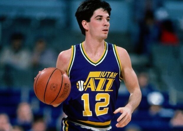 John stockton Utah jazz