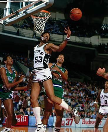 Gilmore mejor porcentaje de tiro partido NBA