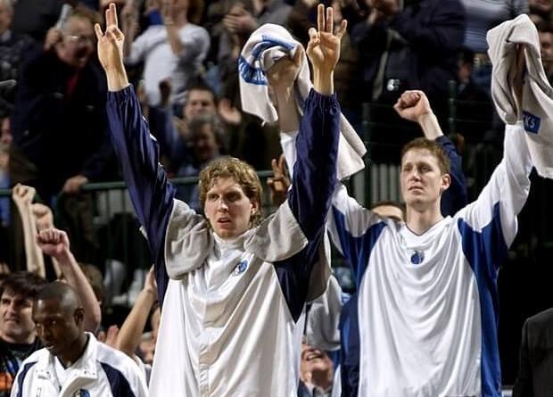 Quinteto más alto historia NBA