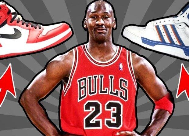 Michael Jordan Nike Adidas