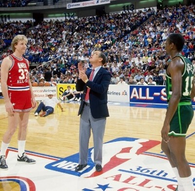 Larry Bird y Craig Hodges