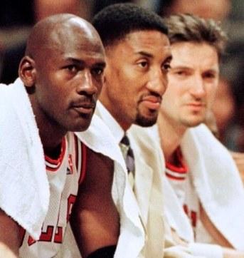 Jordan, Pippen y Kukoc