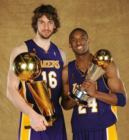 Lakers Kobe y Pau