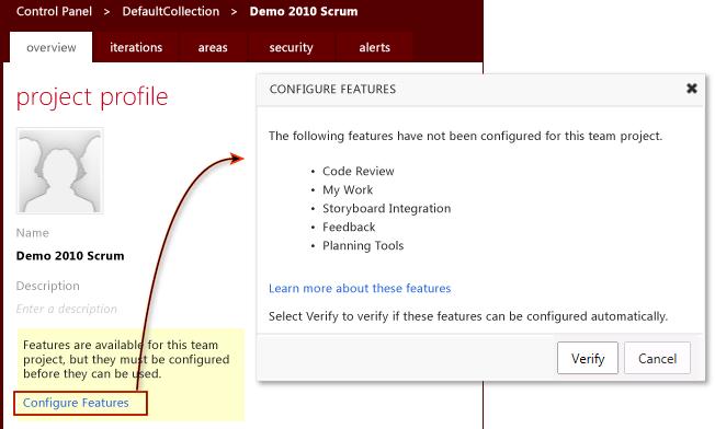 Run the Configure Features Wizard (4/5)