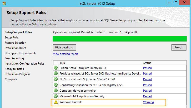 SQL Server 2012 Installation for Team Foundation Server (2/6)