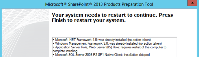 Installing SharePoint 2013 Products on Windows Server 2012 for Team Foundation Server 2012 (2/6)