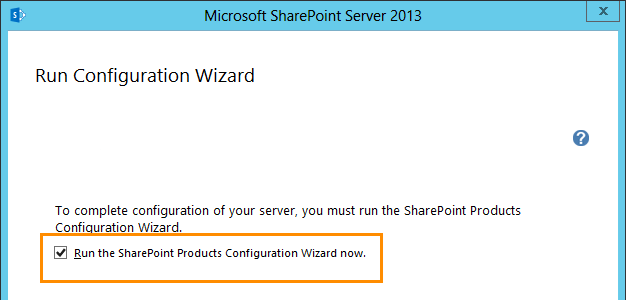 Installing SharePoint 2013 Products on Windows Server 2012 for Team Foundation Server 2012 (6/6)