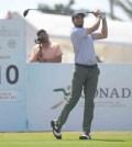 Álvaro Ortiz hace historia en el Abierto Mexicano de Golf