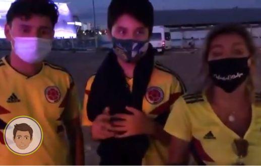 Familia viaja a Brasil copa america