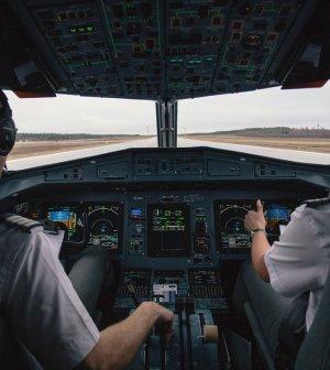 Piloto graba su vuelo completo