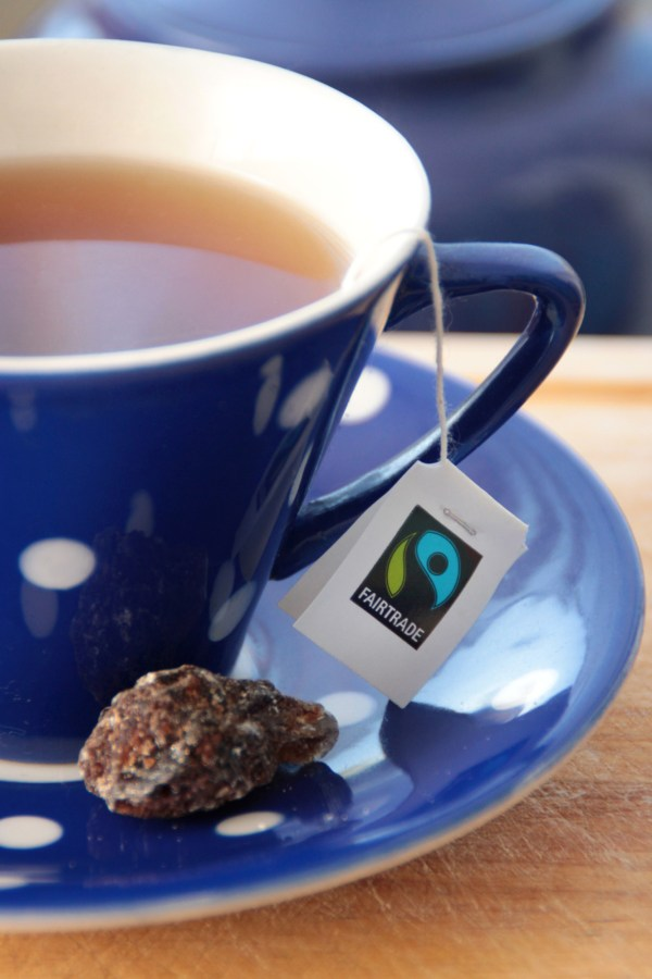 Cup of Fairtrade tea.