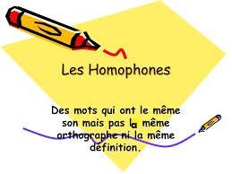imageshomophones