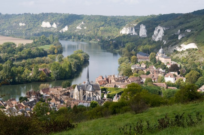 France, Eure (27), Les Andelys, la Seine//France, Eure (27), Andelys, the Seine
