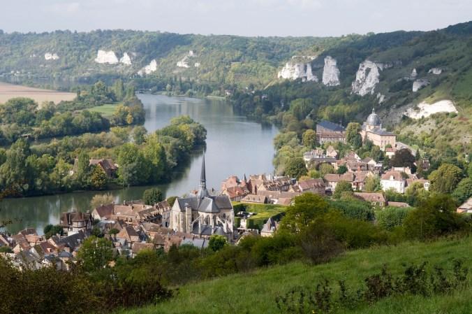 France, Eure (27), Les Andelys, la Seine//France, Eure (27), Andelys, the Seine