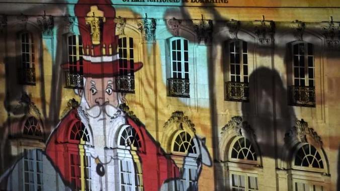 ©PHOTOPQR/L'EST REPUBLICAIN / ALEXANDRE MARCHI / NANCY / LE 06/12/14 Feux d'artifice de la fête de Saint Nicolas sur la place Stanislas. (MaxPPP TagID: maxnewsworldthree637411.jpg) [Photo via MaxPPP]