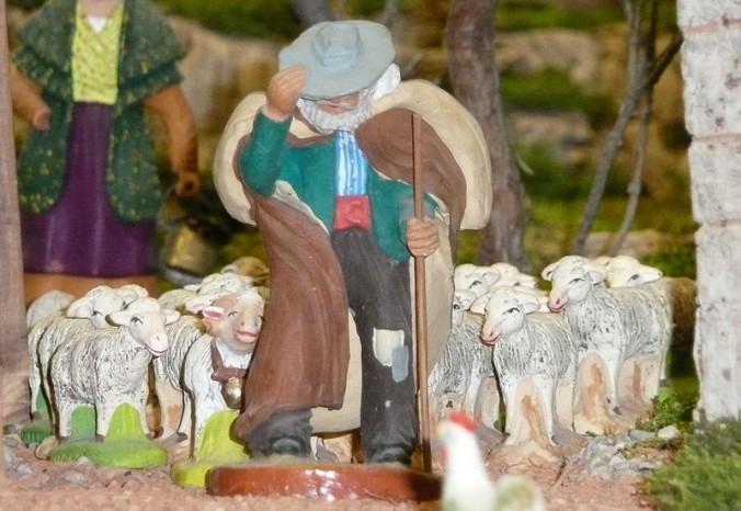 Berger et son troupeau- foto Marie Blanche Sorribas