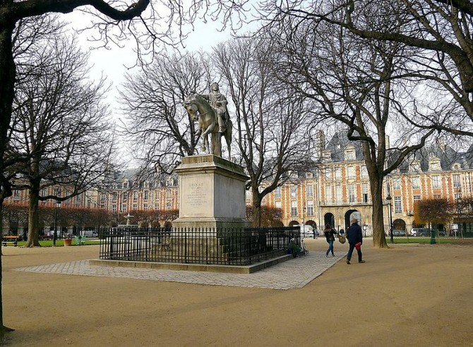 _Vosges_statue_Louis_XIII_ Foto Mbzt