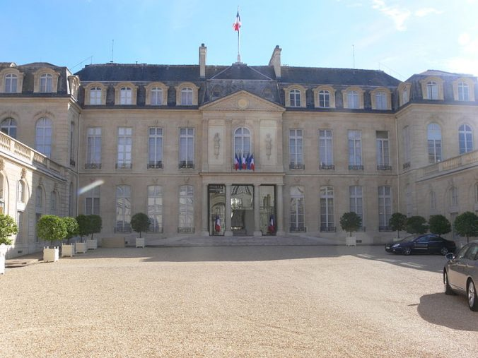 palais de l'Élysée cour Photo Remi Mathis