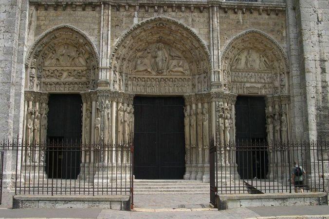 -Chartres Pórtico Real Foto Nina Aldin Thune