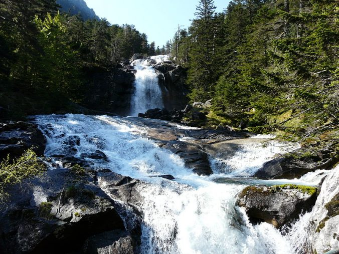 Parque National des pyrénées cascade du Pont d'Espagne - Photo Père Igor