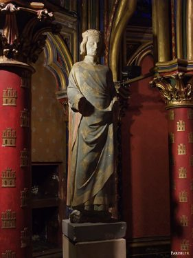 sainte-chapelle- Statut de Saint-Louis