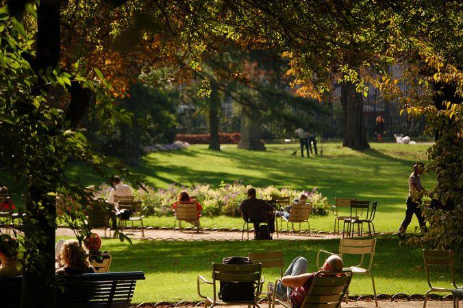 Les jardins du Luxembourg-jardins à l'anglaise-photo-crazynorvegian