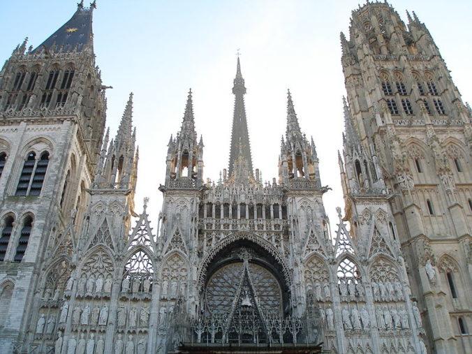 Rouen - La Cathédrale Notre-Dame - Photo Rouennais