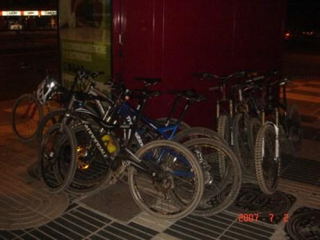 El kiosko de bicis